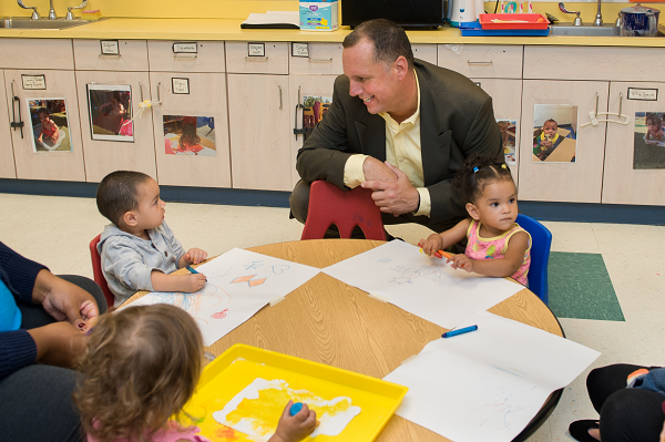 Investing in the Future: Financing Early Education & Care in Rhode Island COver