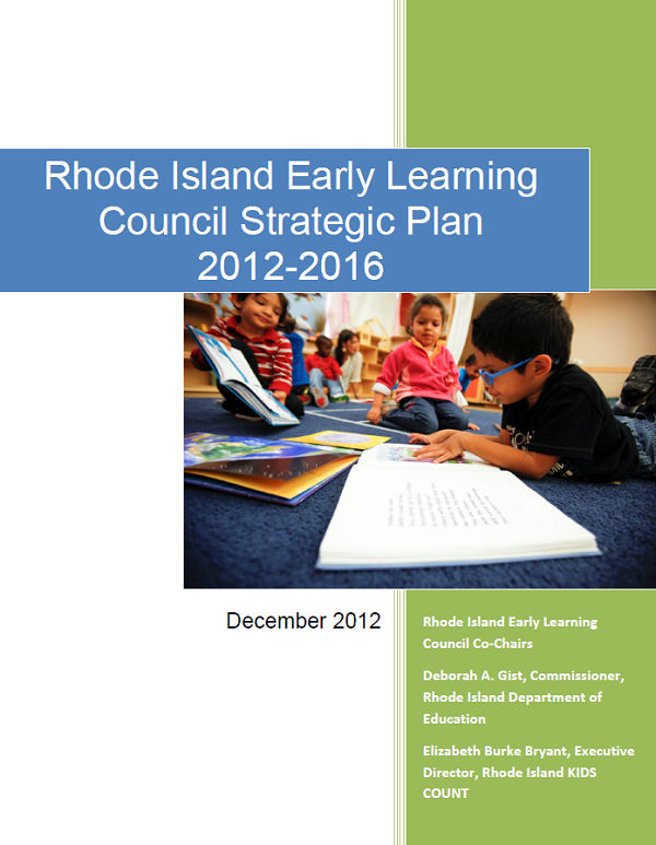 Early Learning Council Strategic Plan